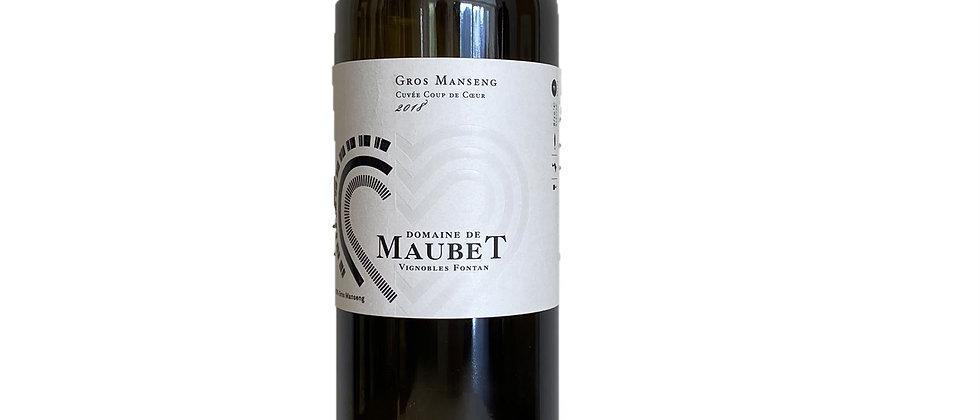 IGP Côtes de Gascogne - Cuvée Coup de Coeur - Gros Manseng - Dom. Maubet