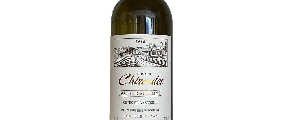 IGP Côtes de Gascogne - Soleil d'Automne -Dom. Chiroulet