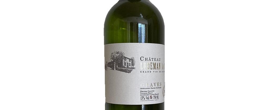 AOP Graves blanc - Château Ludeman la Côte