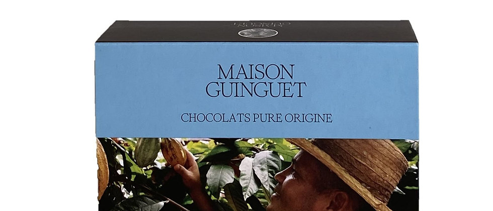 Chocolat noir d'origine : Equateur - 100 gr