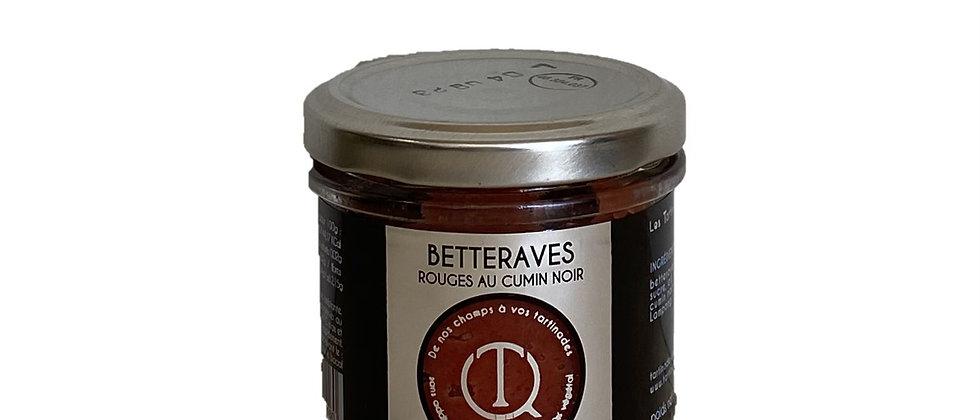 Tartinade Betteraves rouges au cumin noir - 100 gr