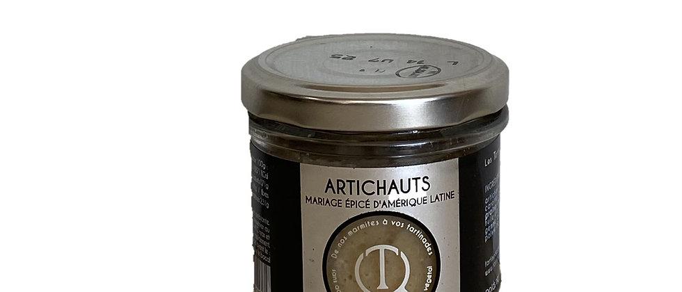 Tartinade Artichauts Mariage épicé d'Amérique Latine - 100 gr