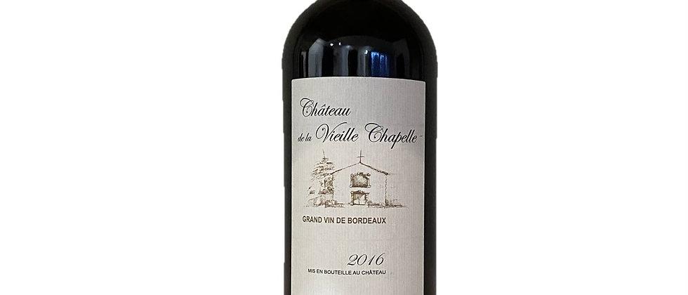 AOP Bordeaux Supérieur - Tradition - Château de la Vieille Chapelle