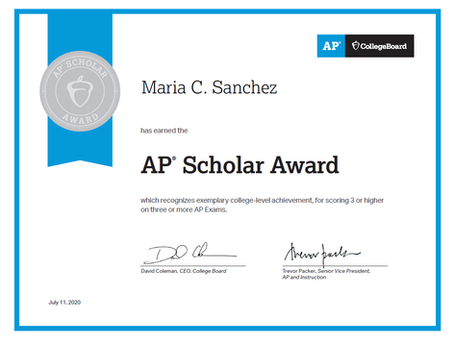AP Scholar Award