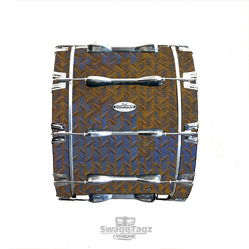 Diamond Plate (Brown)