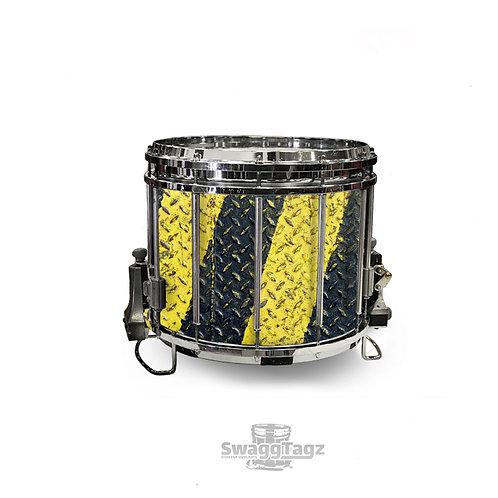 Diamond Plate (Black & Yellow)