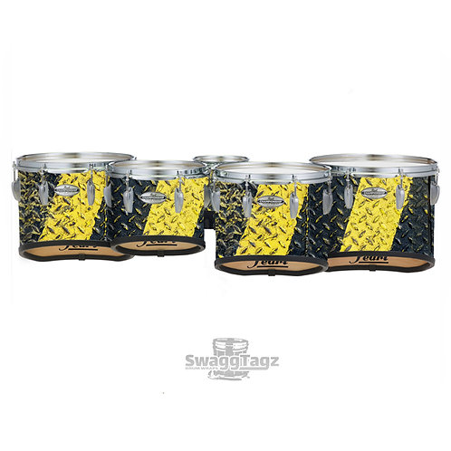 Diamond Plate (Black & Yellow)