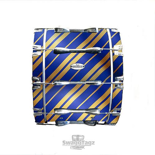 Stripes (Blue & Gold)