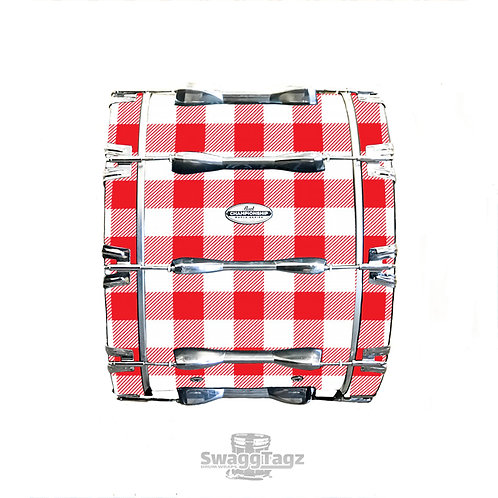 Gingham (Red)