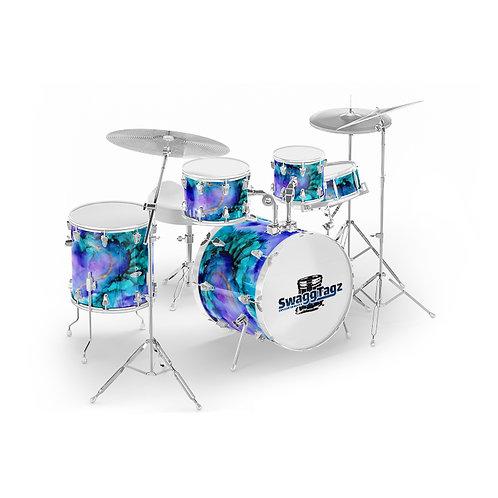 Watercolor (Blue/Purple)
