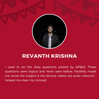 APSEd platform review by Revanth Krishna