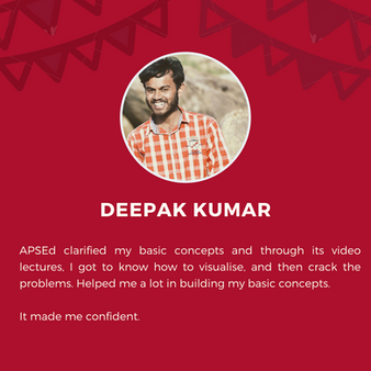 APSEd platform review by Deepak Kumar