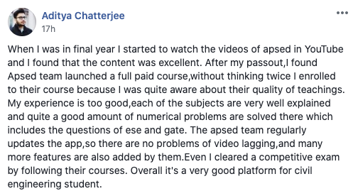 APSEd Review by Aditya Chatterjee
