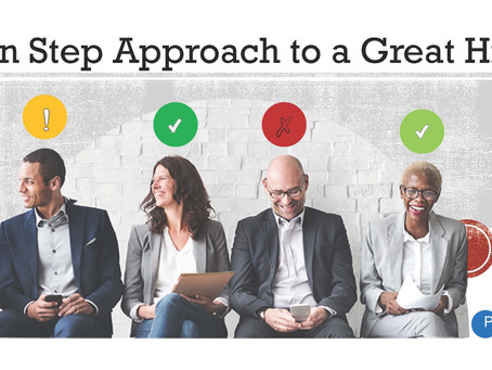 Ten Steps to a Great Hire