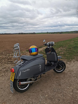 Have scooter, will travel!