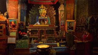 20. Four faced Buddha at Tashilhunpo Mon