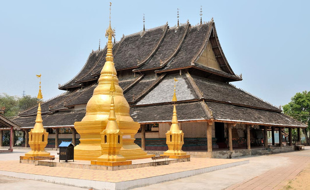 21. Manlai Dai Temple, Jingzhen, Xishuan
