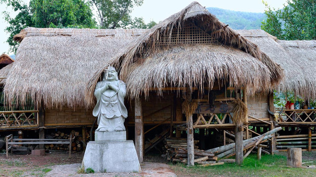 48. Wending village of Wa minority, Xime