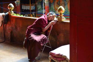 21. Monk at the Tashilhunpo Monastery.jp