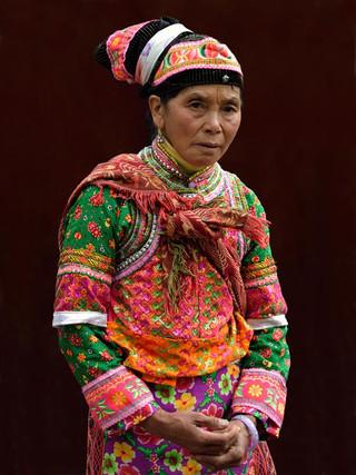 34. Tuli Yi minority woman, Weishan coun