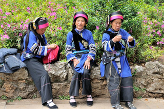 22. Sani minority women, Shilin, Yunnan.