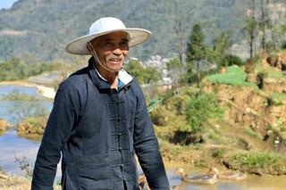 19. Hani rice farmer, Yuanyang, Yunnan.j