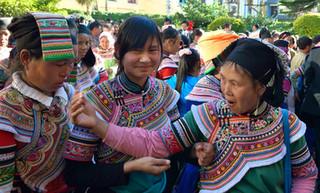 02. Yi minority women, Yuanyang, Yunnan.j