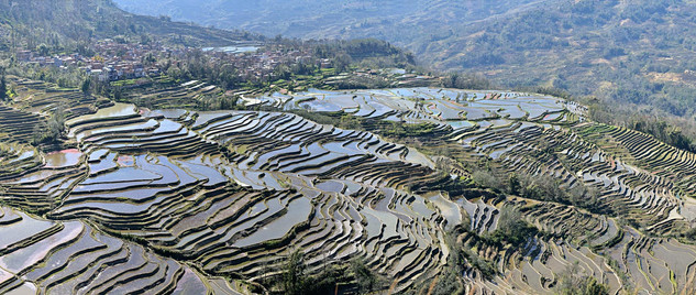 10. Rice Terraces of the Hani people, Yu