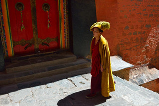 16. Monk of the Gelugpa order, also know