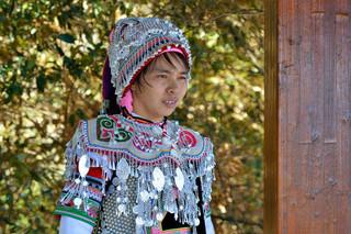09. Yi minority woman, Yuanyang, Yunnan.j