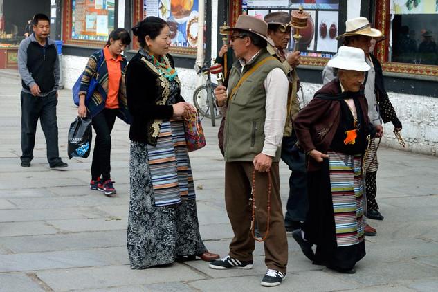 18. Street scene in old Lhasa.jpg