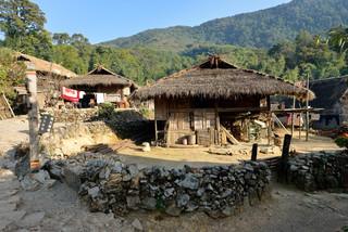 50. Wending village of Wa minority, Xime