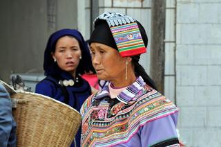 10. Yi minority woman, Yuanyang, Yunnan.