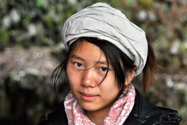 29. Mourning girl of the Dong minority,