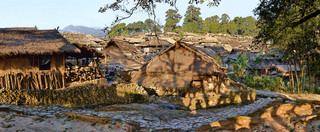 47. Wending village of Wa minority, Xime