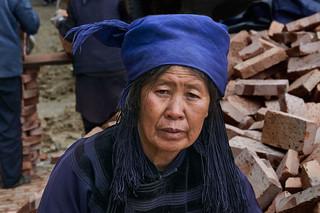 12. Hani minority woman, Yuanyang, Yunna
