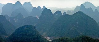 03. Karst hills along Yulong River, Guang