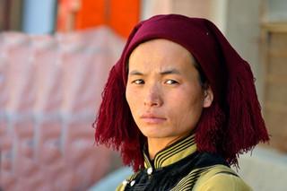 16. Hani minority woman, Yuanyang, Yunna