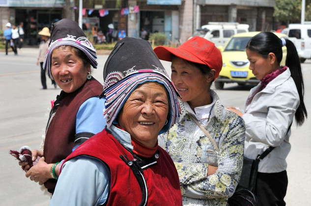 30. Bai minority women of Jianchuan, Yun