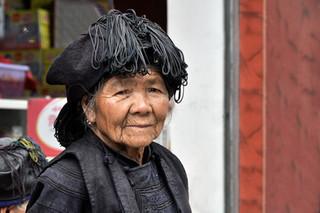 11. Yi minority woman, Yuanyang, Yunnan.