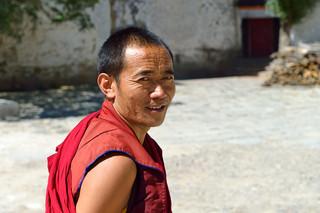 25. Monk at the Tashilhunpo Monastery.jp