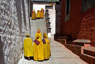 17. Monks of the Gelugpa order, Tashilhu