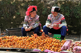 05. Yi minority women, Yuanyang, Yunnan.j