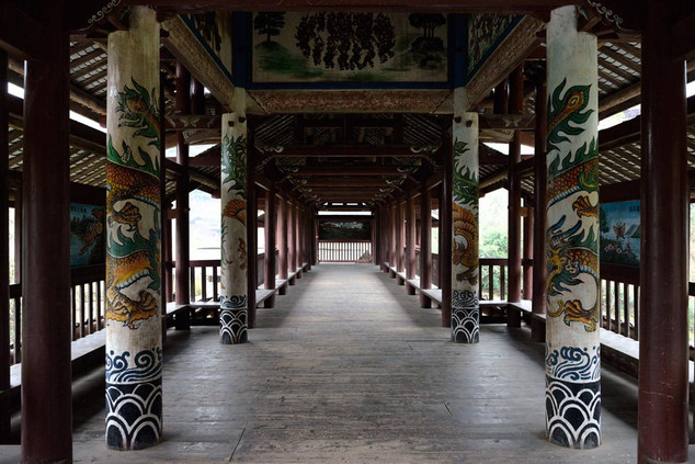 34. Wind and rain Bridge, Qiadognan, Gui