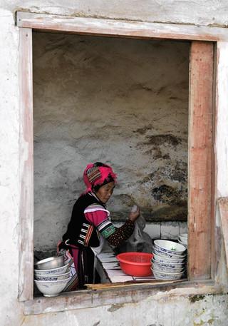 07. Yi minority woman, Yuanyang, Yunnan.j
