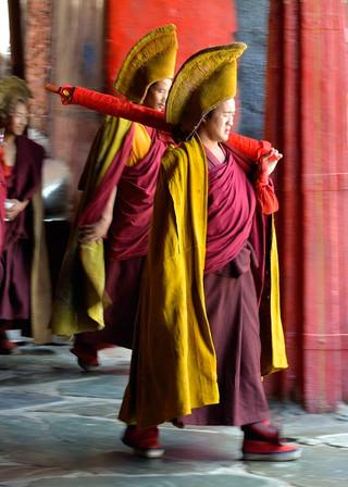18. Lamas of the Gelugpa order, Tashilhu