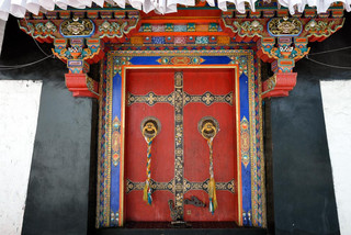 23. Entrance to the Tantric College, Tas