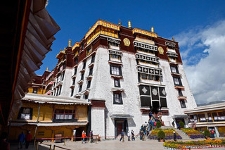 02. The White Palast of the Potala Palast