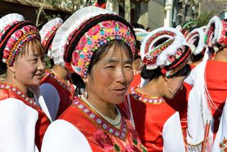48. Woman of the Bai minority, Dali, Yun