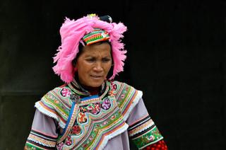 06. Yi minority moman, Yuanyang, Yunnan.j
